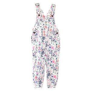 OshKosh floral overalls